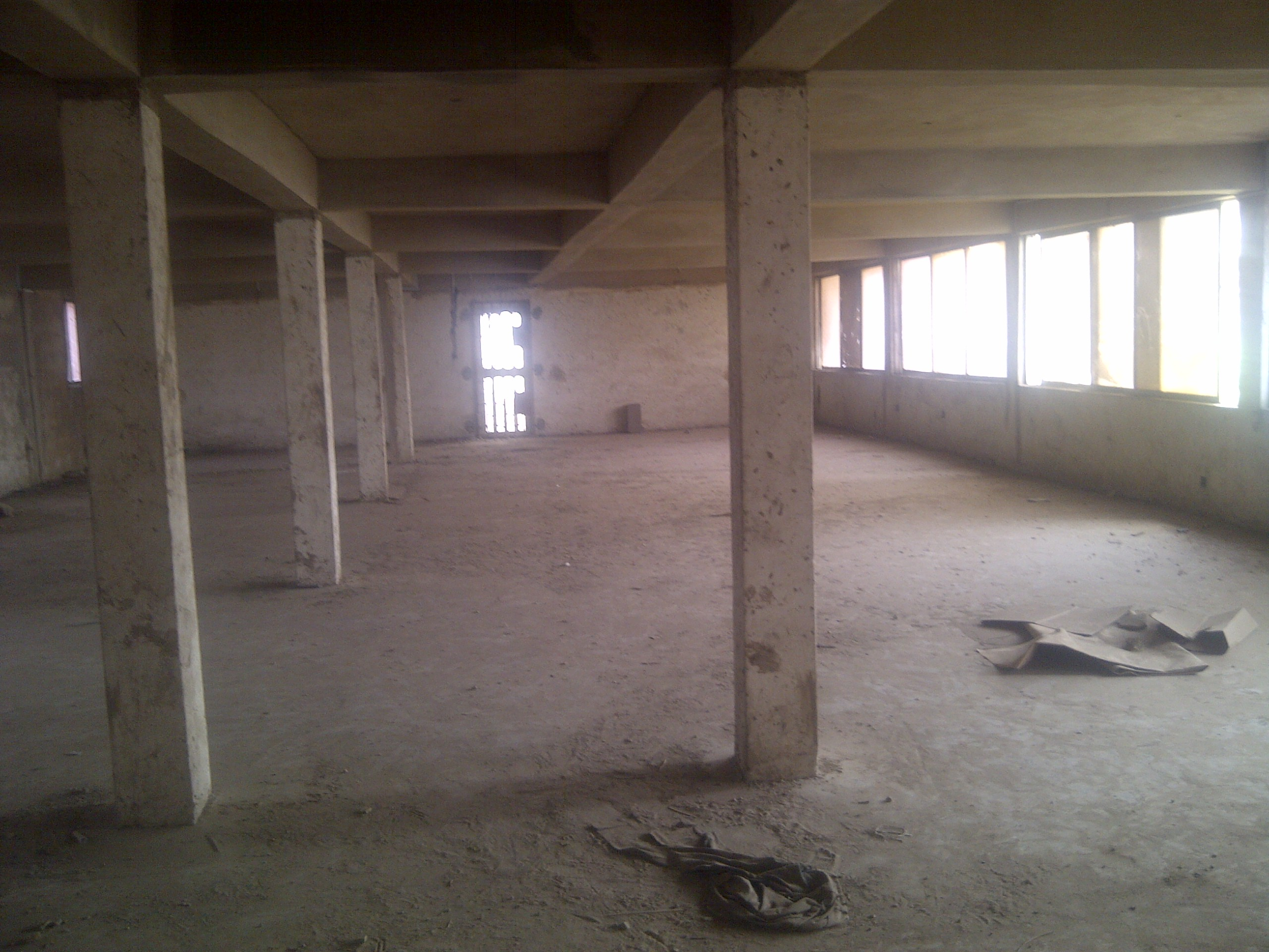 office space for rent in lagos, property is on 3 floors of about 400sqm per floor