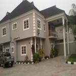 Newly Finished Luxurious 5 Bedroom Duplex - Rent / Lease - with a 2-Room-Security House